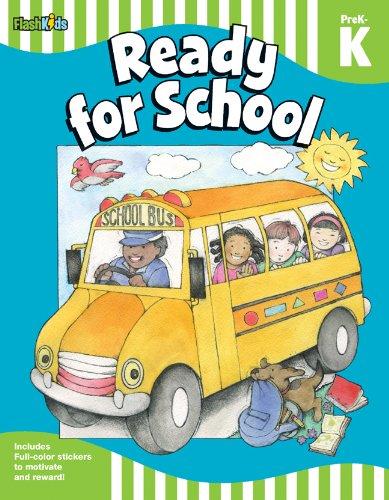 Ready for School: Grade Pre-K-K (Flash Skills) pdf
