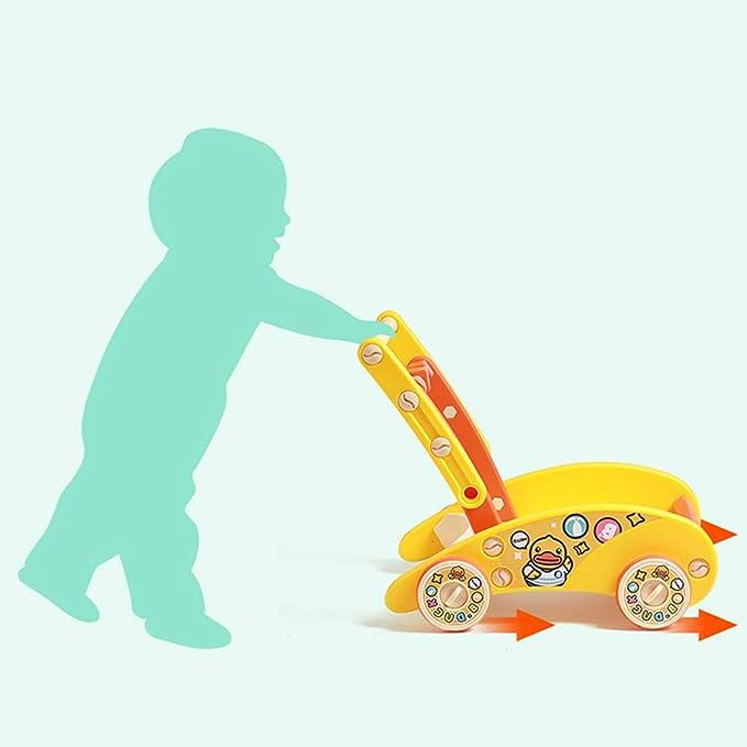 Andador de bebe Baby Walker Trolley multifunción 6-18 Meses para ...