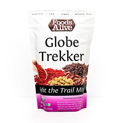 Globe Trekker Trail Mix, Organic, 8oz (2-Pack) - Going Goji Berry