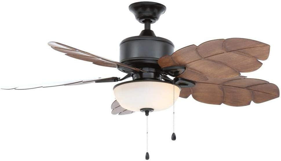 Home Decorators Collection 51422 Palm Cove 52 in. Natural Iron Ceiling Fan