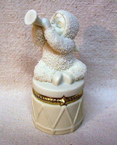 - Dept56 Snowbabies Bisque Porcelain Hinged Box