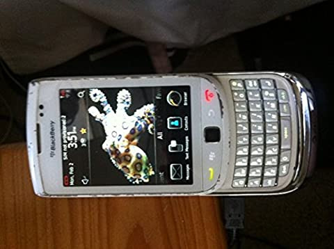 BlackBerry Torch 9800 GSM 3G Used Smartphone White AT&T (Blackberry 9800 Gsm)