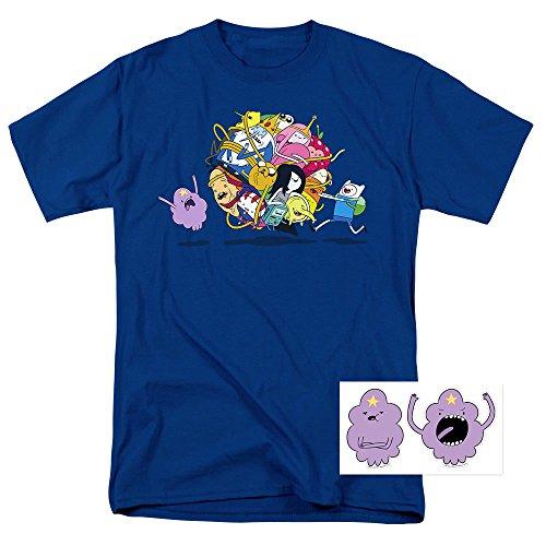 Adventure Time Glob Ball Cartoon Network T Shirt & Exclusive Stickers (Adventure Time Shirt)