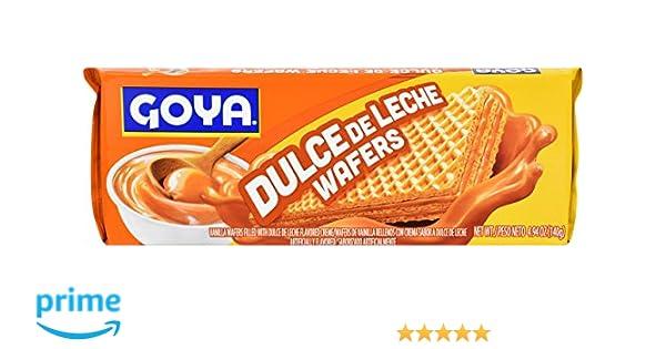 Goya Foods Dulce Le Leche Wafer, 4.94 Ounce