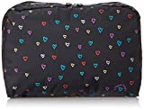 LeSportsac Extra Large Rectangular Case Cosmetic Bag, Love Drops, One Size
