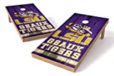 PROLINE NCAA College 2' x 4' LSU Tigers Cornhole Board Set - Vintage