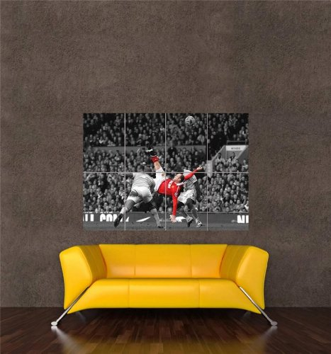wayne-rooney-over-head-kick-manchester-united-new-giant-art-print-poster-oz1004