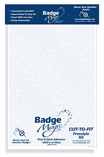 (Badge Magic Cut to Fit Freestyle Patch Adhesive Kit (3-Pack))