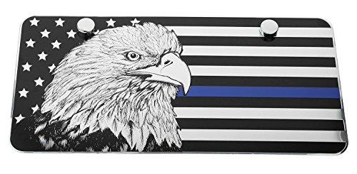 USA American Eagle Metal Embossed License Plate (12