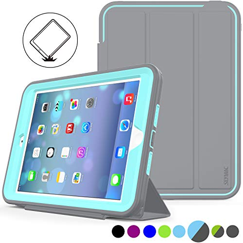 iPad Mini 1/2/ 3 Case Three Layer Heavy Duty Shock Poof Smart Cover, Auto Sleep...