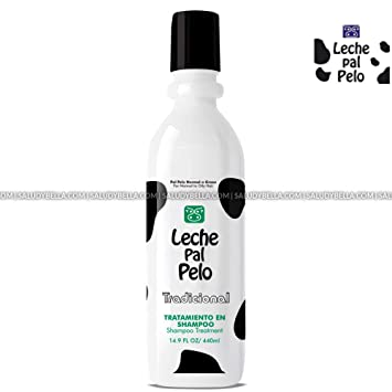 Amazon.com : Leche Pal Pelo Salt Free Shampoo Treatment with Natural Soy and Wheat Proteins, Deep Cleaning for Shiny and Silky Hair, 14.9 oz. : Beauty