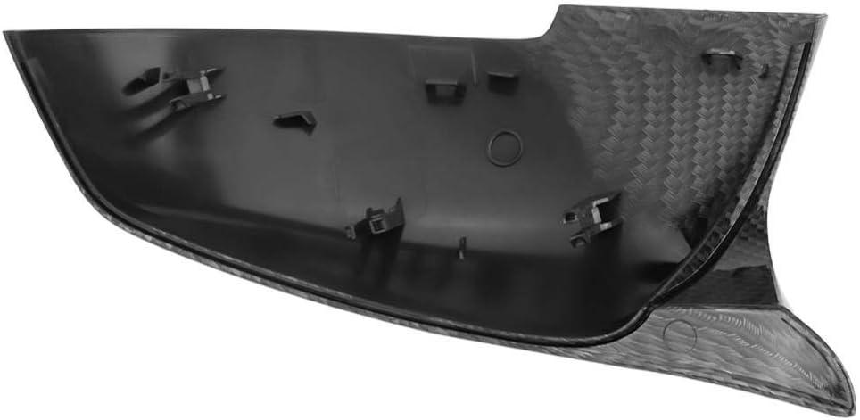 tapa de la cubierta del espejo del material pl/ástico del ABS para BMW 220i 328i 420i F20 F21 F30 F32 F33 F36 F36 X1 E84 Qii lu 1 par de cubierta del espejo retrovisor del coche
