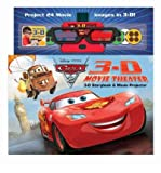 img - for [ DISNEY PIXAR CARS 2 3-D MOVIE THEATER [WITH MOVIE PROJECTOR AND 3-D GLASSES] (DISNEY PIXAR CARS 2) ] By Stierle, Cynthia ( Author) 2011 [ Hardcover ] book / textbook / text book