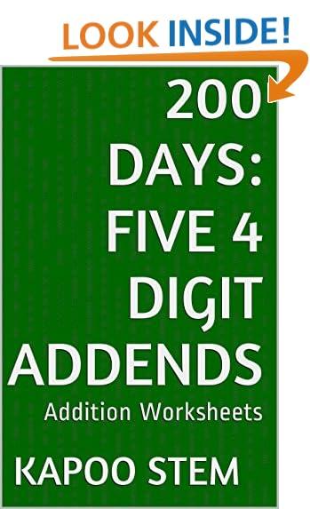 Addition Worksheets: Amazon.com