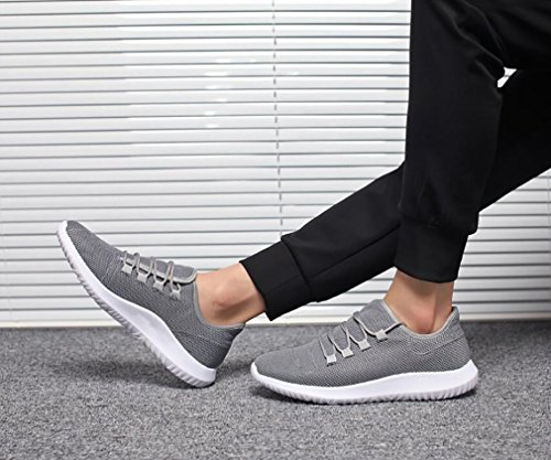 Automne 2018 Hemei 40 pour Pied Chaussures Confortable Printemps Baskets de Toile Course Sport à Homme nbsp;Neuf Chaussures Respirant de Tourisme Gray Chaussures sur de l'étudiant YFFwxSd