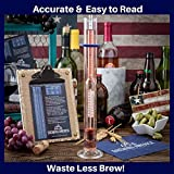 Thermo-Hydrometer ABV Tester Triple Scale for