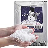 Instant Snow Powder - Makes 2 Gallons of Artificial Snow - Perfect for Christmas Tree Decoration, Village Displays, Holiday and Winter Crafts and Fake Snow Play and Great for Cloud Slime