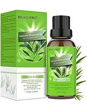 Tea Tree Oil Puro 100% Olio Essenziale di Albero del Tè Naturale - Olio Essenziale Tea Tree Olio di Acne - Anti Acne e Brufoli Trattamento per Pelli Impure, per Aromaterapia Diffusore - 30ml