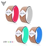 Forbidden Road Yoga Wheel (4 colors) Cork and ABS wheel Stretching and Supporting Yoga Poses...