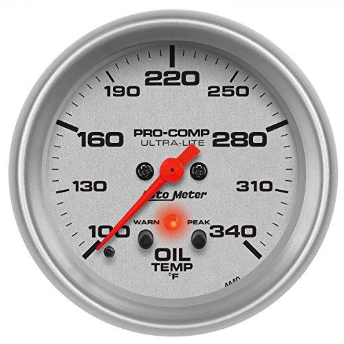 (Auto Meter 4440 Ultra-Lite Electric Oil Temperature Gauge)