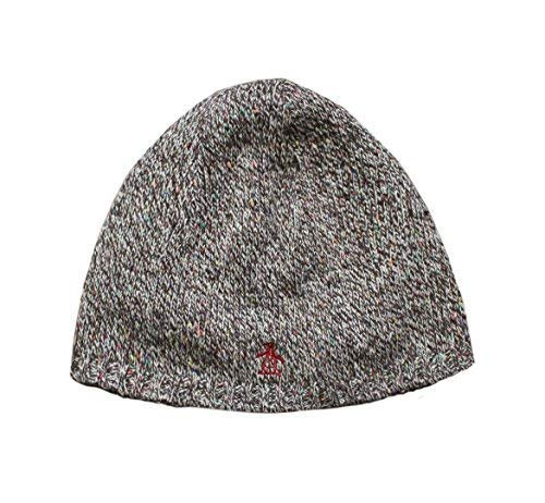 b545e5e4745b3 ORIGINAL PENGUIN UNISEX RIBBED KNITTED BEANIE HAT BROWN One Size (Brown)   Amazon.co.uk  Clothing