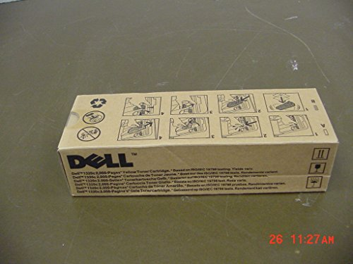 Dell PN124 Yellow Toner Cartridge 1320c Color Laser Printer by Dell