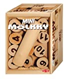 Tactic Games 40358, Mini Mölkky (indoor and outdoor), wooden shooting game