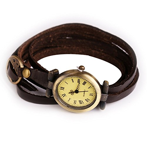 Simple Leather Vintage Female Bracelet L - Bracelet Ladies Wrist Watch Shopping Results