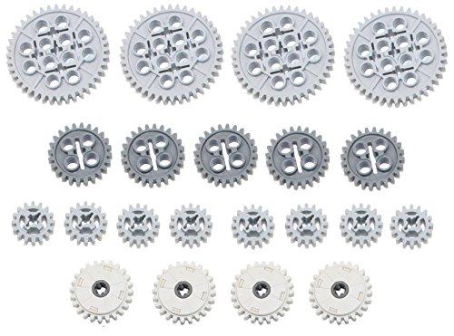 Juego de EMBRAGUE LEGO 21pc Technic 16 24 40 dientes (Mindstorms nxt robot EV3 lot pack)