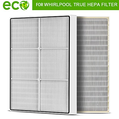 True HEPA Filter Accessories for Whirlpool 1183054K Large (1183054) 8171434K Fits Whispure Air Purifier Models AP450 AP510 AP51030K AP51030KB AP45030K,Replacement Part for Whirlpool By Sedremm by Sedremm