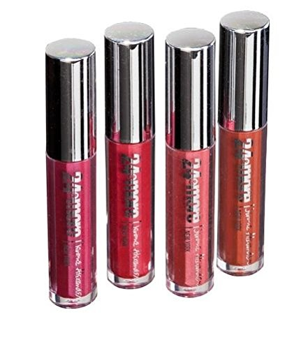 Jerome Alexander 24 & More Lip Color (4 Pack) Rose Collection