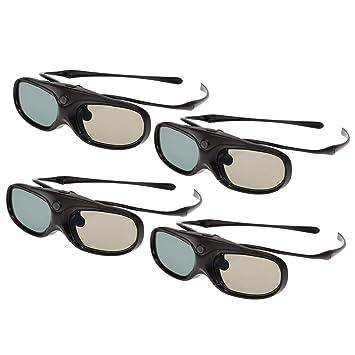 Docooler G300 Obturador Activo Gafas 3D con Clip Tipo Compatible ...