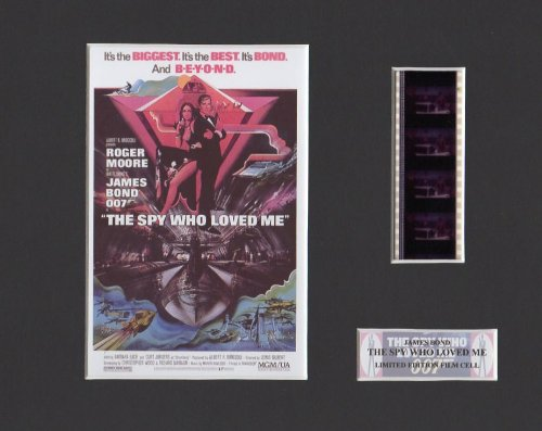 "James Bond - The Spy Who Loved Me 8"" x 10"" Film Cell"