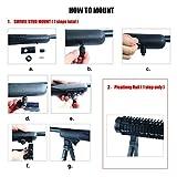 JINSE-Tactical-Bipod-picatinny-rail-Swivel-Foldable-Rubber-Feet-Height-65-75
