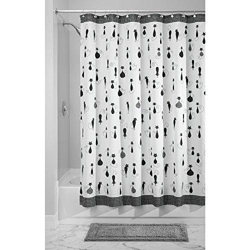 InterDesign SophistiCat Fabric Shower Curtain