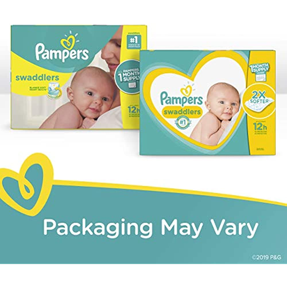 Pampers Swaddlers Disposable Baby Diapers 120 Count Diapers Size 4