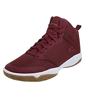 Champion Maroon Men's Inferno Basketball Shoes 7.5 Regular