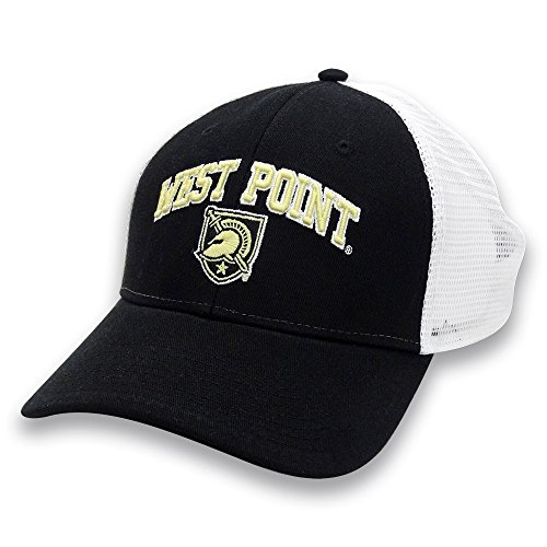 - The Game NCAA Army Black Knights Adult Everyday Trucker Mesh Hat, Adjustable, Black