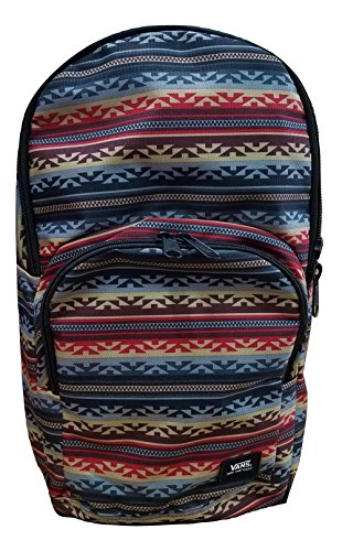 Vans Men's/Women's Alumni Pack (Laptop Backpack) (Multi - White Ray Toronto
