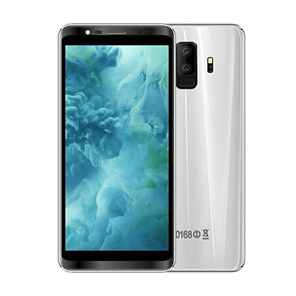 Unlocked Excelay S9+Android 8.0Smartphone Quad Core 512+4GCell Phone GPS 5MP (Silver)