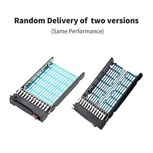 Soporte de bandeja KKmoon HHD para HP 2.5 Drive Caddy SAS SATA 371593-001 DL380 DL370 DL360 G5 G6 G7