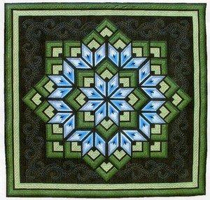 Amazon.com: Dereck Lockwood Starburst Quilt Pattern: Kitchen & Dining : starburst quilt - Adamdwight.com