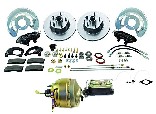 SSBC A120-20 Front Drum to Disc Brake Conversion Kit