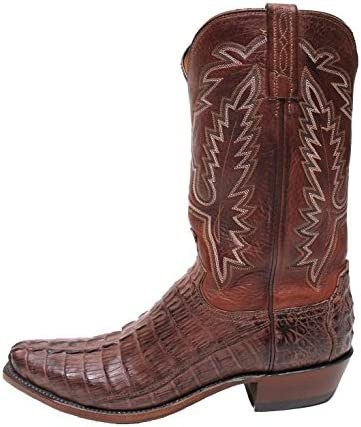 Lucchese Boots Horned Back Croc Tail