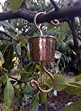 Colibri Copper Large Ant Moat 2'' Hand Hammered for Hummingbird Feeders