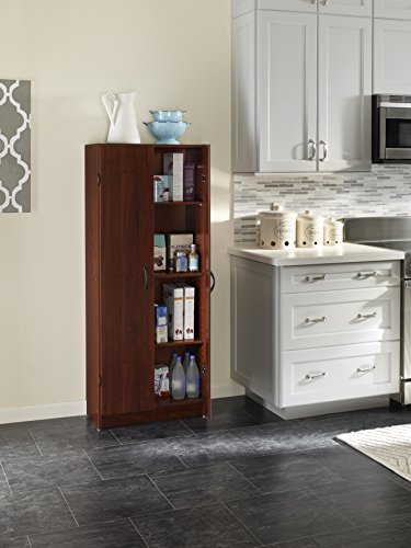 kitchen maid pantry cabinet closetmaid 1308 pantry cabinet cherry furniture 5395