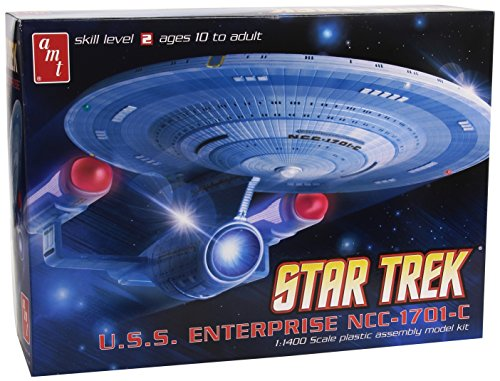AMT Star Trek USS Enterprice 1701C 1/1400 Scale Model Kit