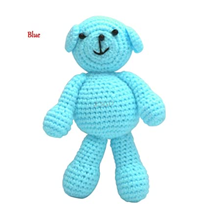JEWH Cute Newborn Baby Girls Boys Photography - Prop Photo Crochet Knit Toy Cute Little Bear