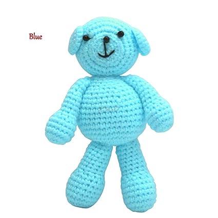 JEWH Cute Newborn Baby Girls Boys Photography - Prop Photo Crochet Knit Toy Cute Little Bear