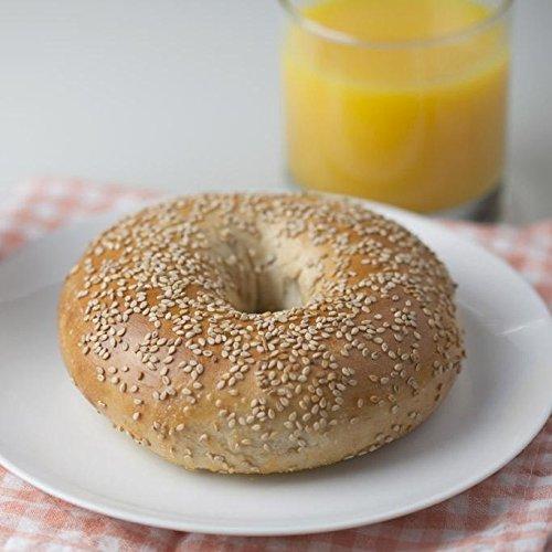 (12 Fresh New York Bagels - Sesame)